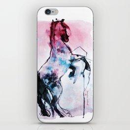 Blb's horse iPhone Skin