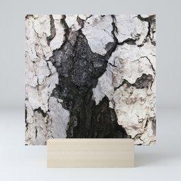 bark abstact no1 Mini Art Print