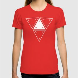 Red Unrolled D4 T-shirt