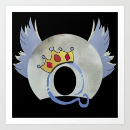 Queen Album Cover Concept Art A Day At the Races Art Print