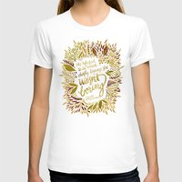 fitzgerald T-shirts featuring Zelda Fitzgerald – Fall Palette by Cat Coquillette