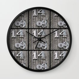 14 Over 9(1) Wall Clock