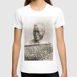 Maori Portrait by Arthur James Iles T-shirt