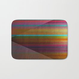 """""""Architecture, Colorful Rainbow"""" by Mar Cantón Bath Mat"""