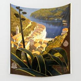 La Riviera italienne, Portofino près de S.Margherita et Rapallo Wall Tapestry