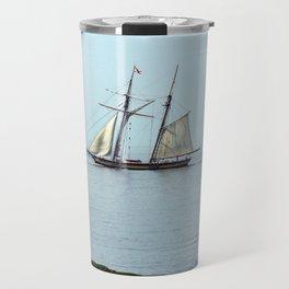 Tall ship Sails by Travel Mug