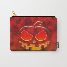 Screaming Pumpkin Carry-All Pouch
