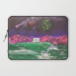 Dolphins cove Laptop Sleeve