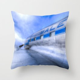 Malev Lisunov Li-2 Aircraft Throw Pillow