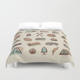 Lets Go Camping Duvet Cover