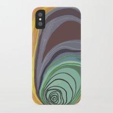 Tree Stump Series 1 - Illustration Slim Case iPhone X