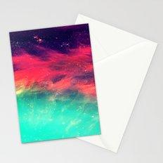 Galaxy Ocean Stationery Cards