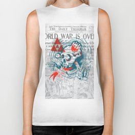 Speak No Evil by Handsome Lad Biker Tank