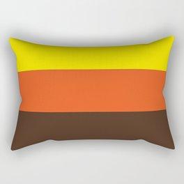 Three colors Rectangular Pillow