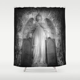 Angel Watching Over You Shower Curtain