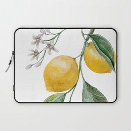 Lemon Branch watercolor Laptop Sleeve