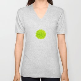 Durian_Fresh_Green_Watercolour_small Unisex V-Neck