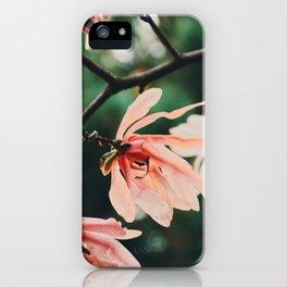 Summer Magnolia iPhone Case