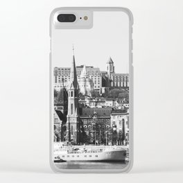A Nice Day in Budapest Clear iPhone Case