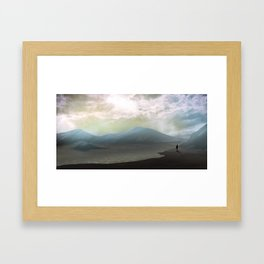Calm Morning Framed Art Print