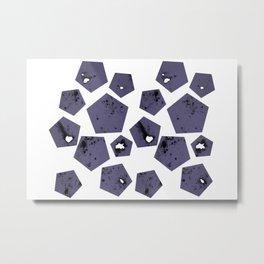 Pentagons of May 18 Metal Print