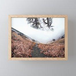 Precursors: a mystery fantasy landscape Framed Mini Art Print