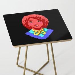 Meet Nancy Maple - The Crimson Diamond Side Table