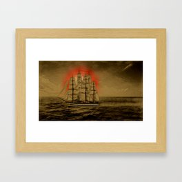 Set Sail - 001 Framed Art Print