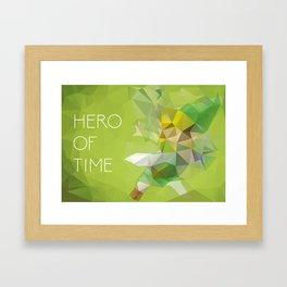 Link: Hero of Time Framed Art Print