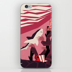 The daily commute iPhone & iPod Skin