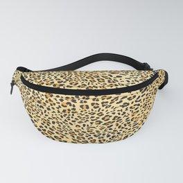 Leopard Texture 4 Fanny Pack