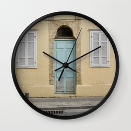 The Streets Of Tel-Aviv Wall Clock
