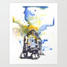 R2D2 from Star Wars Art Print
