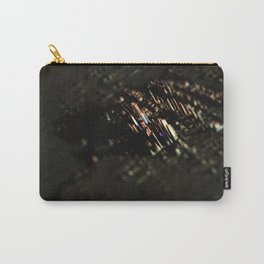 Abstract cityscape aerial view technology background Carry-All Pouch