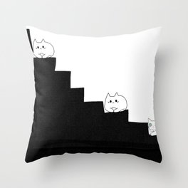 cats 589 Throw Pillow