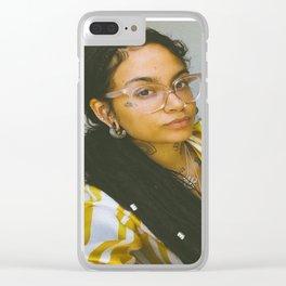 Kehlani 26 Clear iPhone Case