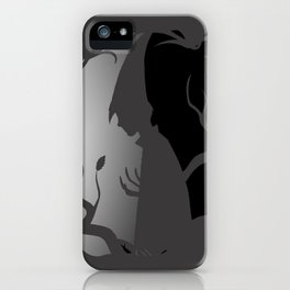 Over The Garden Wall Shilouette WIRT iPhone Case