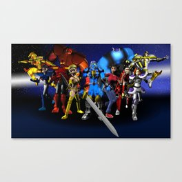 Theiser and The elite warriors Canvas Print