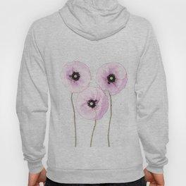 Delicate Poppies Hoody
