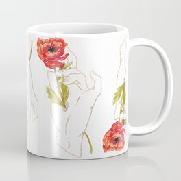 Poppy - Gold (Gilded Hands Series) Coffee Mug