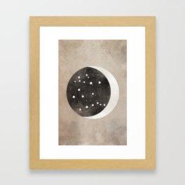Gemini Constellation Framed Art Print