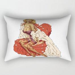 Pin up Zombie 01 Rectangular Pillow