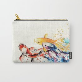 Underwater rainbow : the goldfishes Carry-All Pouch
