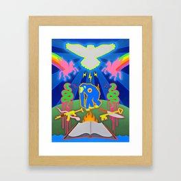 """THE PRIMATE PARADOX""  Framed Art Print"