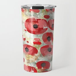 angela's poppies Travel Mug