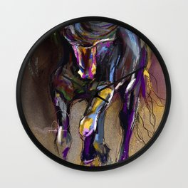 Unbridled. Wall Clock