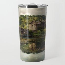 Landscape with an old castle Travel Mug