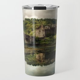 Landscape with an old castle Travel Mug
