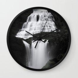 Dynjandi - Thunder of the Westfjords Wall Clock