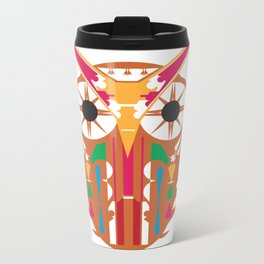 Organic Owl Metal Travel Mug